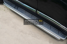 Toyota LC Prado 150 2014- Защита порогов d42 LCPT-001717